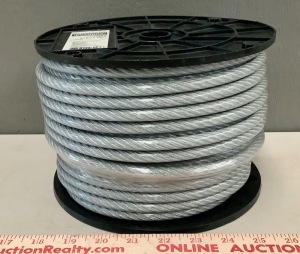 Vinyl Coated 5/16in Wire Rope