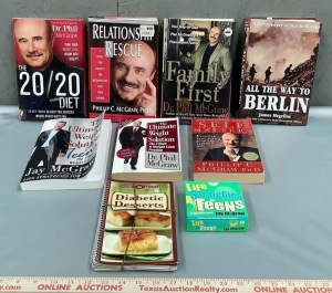 Dr. Phil Book Collection