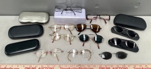 Eye Glass Collection and Cases