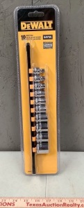 DeWalt 3/8in Drive Socket Set