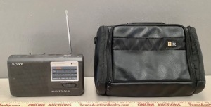 Sony Radio and Case