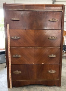 Vintage Waterfall Design Dresser