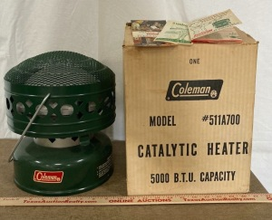 Coleman Catalytic Heater