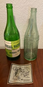 Vintage Crazy Water Bottle from Baker Well