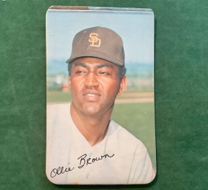 Ollie Lee Brown San Diego Padres Topps Trading Card