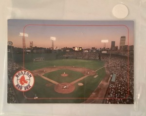 3 Boston Red Sox Fenway Park Postcards