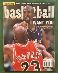 2001 Beckett Magazine - Michael Jordan Collector Cover