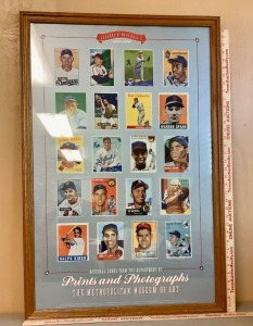 Framed Legends of Baseball 1933-1959 Poster