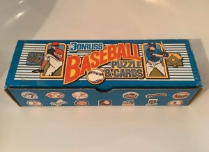 Donruss 1989 Baseball Card Set