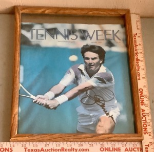 Framed Tennis Week Magazine