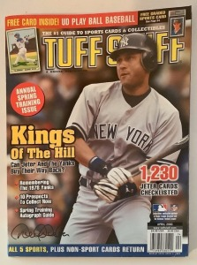 Tuff Stuff Magazine - April 2003 - Derek Jeter Cover
