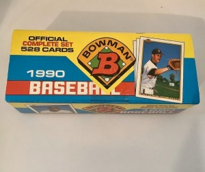 Topps 1990 Baseball Card Set