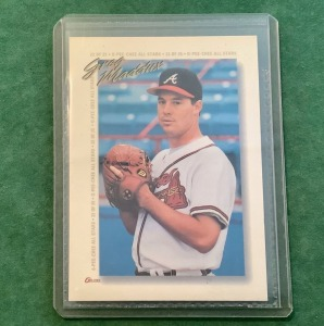 O-Pee-Chee All Stars Greg Maddux Trading Card