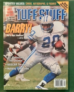 Tuff Stuff Magazine - December 1998 - Barry Sanders Cover
