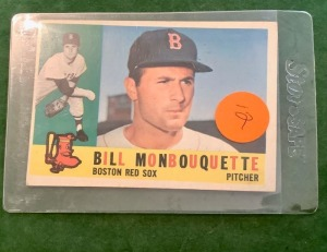 Bill Monbouquette Red Sox Trading Card