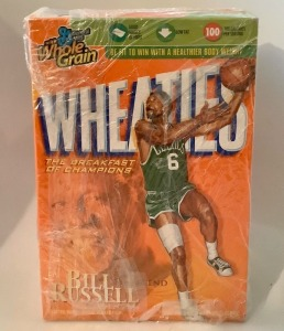 Bill Russell Boston Celtics Wheaties Box