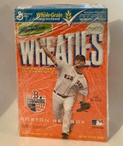Josh Beckett Boston Red Sox Wheaties Box