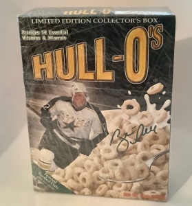 NHL Dallas Stars Player Hull-O's Cereal Box