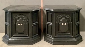 Pair of White Furniture Company Side Tables