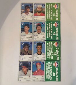 4- Kraft Home Plate Heroes Baseball Player Cards