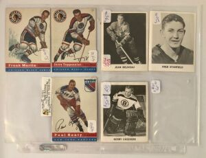 6- Hockey Player Cards