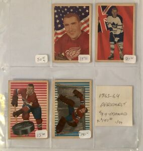 4- Hockey Player Cards
