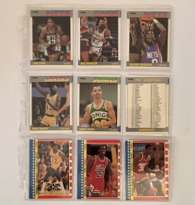 16- Basketball Player Cards