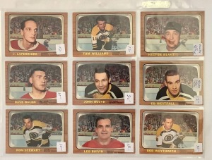 9- Hockey Player Cards