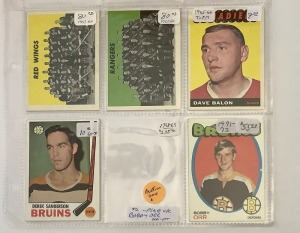 5- Hockey Player Cards