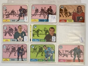 8- Hockey Player Cards