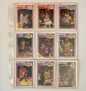 18- Basketball Player Cards