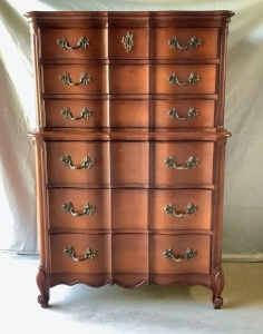 White Fine Furnture Tallboy Dresser