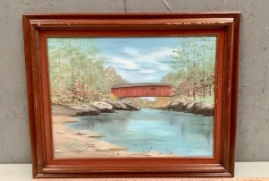 Framed Landscape Art on Canvas