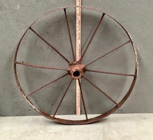 Iron Wagon Wheel