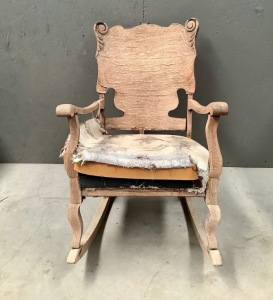 Wood Rocker Project