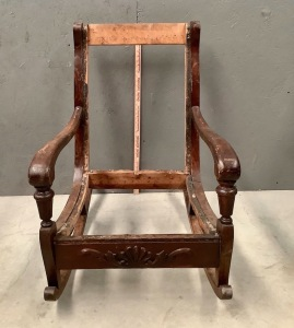 Wood Rocking Chair Frame