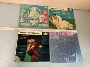 Stanley Black, Shelley Berman Record Albums