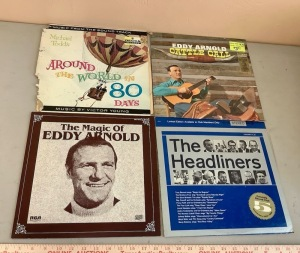 Eddy Arnold, Michael Todd, The Headliners Record Albums