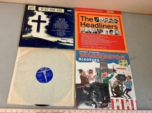 The Headliners, The Best Known Hymns, Kermit Schafer Record Albums