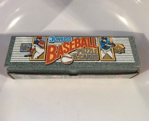 1990 Donruss Baseball Puzzle and Cards Set