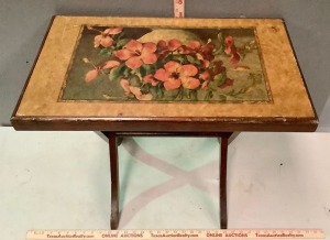 Vintage Folding Wood Table