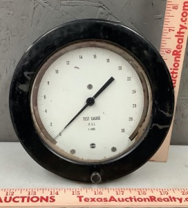 Test Gage 30psi
