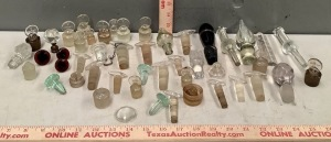 Glass Bottle Stopper Collection