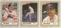 9- 1988 Fleer Star Stickers Baseball Player Cards - 3