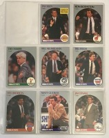 8 Hoops Basketball Player Cards c.1990-91
