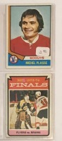 4 Topps Hockey Player Cards c.1974-75 - 3