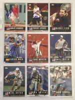 9 Autographed Ace Tennis Player Cards c.2005 - 2
