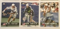 9 Autographed Ace Tennis Player Cards c.2005 - 3