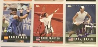 9 Autographed Ace Tennis Player Cards c.2005 - 4