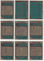 9 Topps Hockey Player Cards c.1977-78 - 2